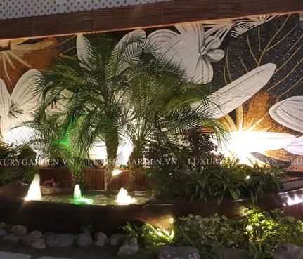 Album cảnh quan vườn khách sạn Tường Vi