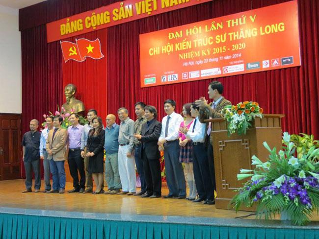 Đại hội lần 5 chi hội Kiến trúc sư Thang Long