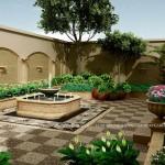 góc đẹp của sân vườn thiết kế mẫu Arabia