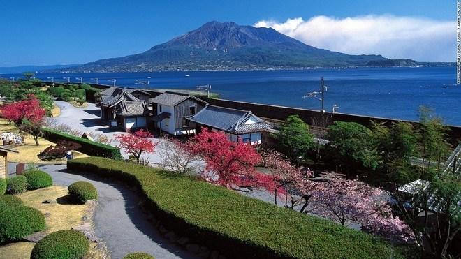 Cảnh quan đẹp mê hồn ở Nhật Bản