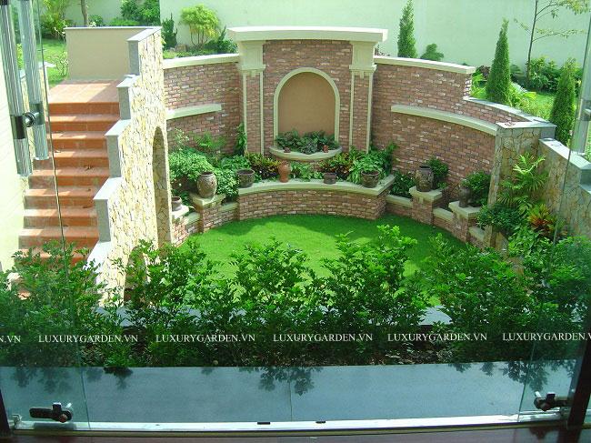 Một góc khu vườn đẹp