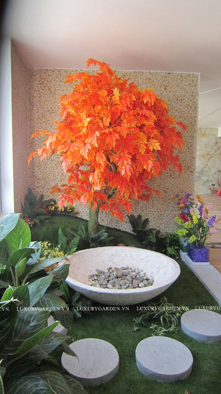 góc phải trong nhà vườn indochina