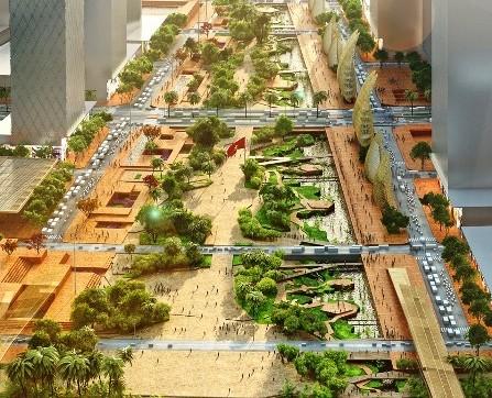Quảng trường Thủ Thiêm quy mô lớn nhất Việt Nam