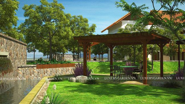Thiết kế vườn theo phong cách châu âu