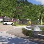 Sân vườn tại Malgretoute Bay được đầu tư