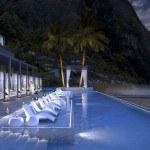 Bể bơi tại Malgretoute bay