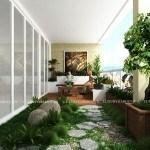 Album ảnh sân vườn Penhouse Mandarin