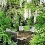 Một không gian lãng mạn ở giữa vườn