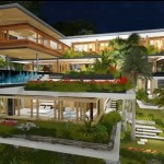 Cảnh quan Xálima Island House