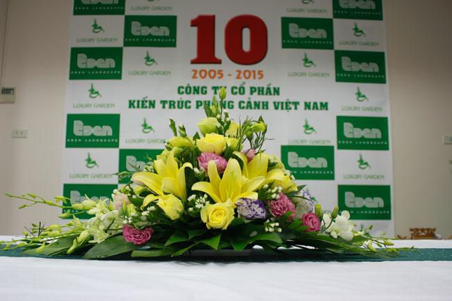 Banner chúc mừng sinh nhật lần 10