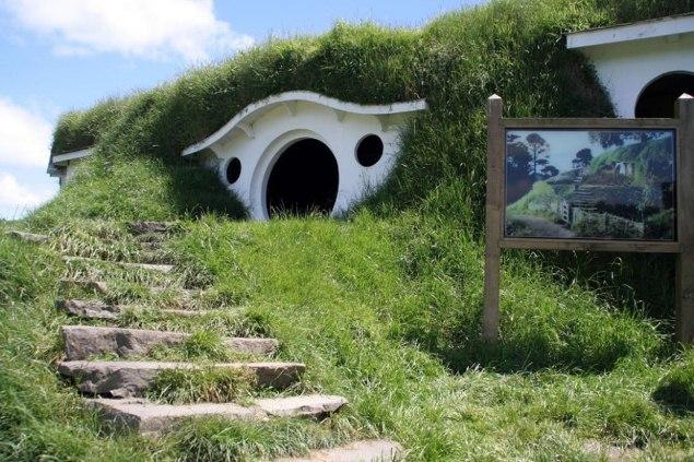 Nhà của Bilbo ở New Zealand