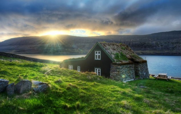 Mái nhà cỏ đẹp ngất ngây trên thế giới